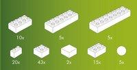 Hubelino briques pour circuit à billes 105 pièces-Détail de l'article