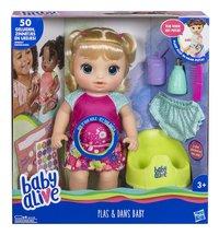 Pop Baby Alive plas en dans baby-Vooraanzicht