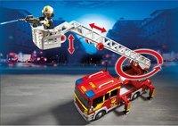 PLAYMOBIL City Action 5362 Camion de pompier avec échelle pivotante et sirène-Image 2