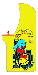 Arcade 1Up Console Pac-Man Arcade Cabinet-Côté droit
