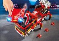 PLAYMOBIL City Action 5362 Camion de pompier avec échelle pivotante et sirène-Image 3