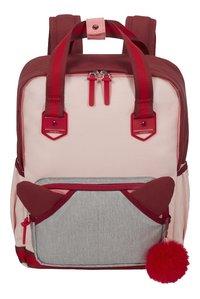 Samsonite sac à dos School Spirit M Burgundy Pink Mascot-Avant