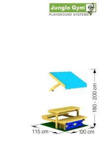 Picknickmodule mini voor De Hut/Cubby-Artikeldetail