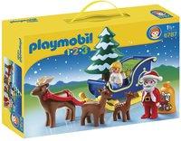 Playmobil 1.2.3 6787 Kerstman met rendierslee