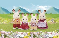 Sylvanian Families 4150 - Famille Lapin Chocolat-commercieel beeld