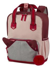 Samsonite sac à dos School Spirit M Burgundy Pink Mascot-Côté droit