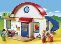 Playmobil 1.2.3 6784 Woonhuis-Afbeelding 1