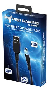 Subsonic Pro Gaming Micro USB Premium Charging cable-Rechterzijde