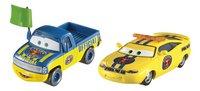Auto Disney Cars 3 Dexter Hoover & Charlie Checker-Vooraanzicht