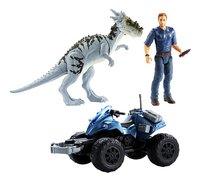Jurassic World speelset Off-Road Tracker ATV-commercieel beeld