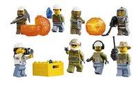 LEGO City 60125 L'hélicoptère de transport du volcan-Détail de l'article