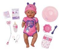 BABY born interactieve pop Soft touch Meisje paars-Vooraanzicht