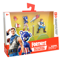 Figuur Fortnite Star-Spangled Trooper & Fireworks Team Leader-Linkerzijde