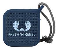 Fresh 'n Rebel Haut-parleur Bluetooth + écouteurs Indigo-Avant