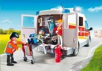 PLAYMOBIL City Life 6685 Ambulance avec gyrophare et sirène-Image 3