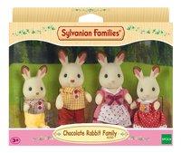 Sylvanian Families 4150 - Famille Lapin Chocolat-Avant
