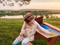 Sunny table de pique-nique pour enfants Dave Sand & Water-Image 4