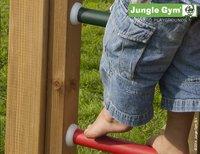 Jungle Gym speeltoren Palace met brug en gele glijbaan-Artikeldetail