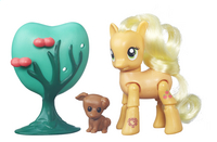 My Little Pony speelset Explore Equestria Applejack plukt appels-commercieel beeld