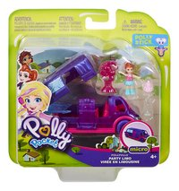Polly Pocket micro Pollyville Party Limo-Vooraanzicht