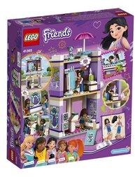 LEGO Friends 41365 Emma's kunstatelier-Achteraanzicht