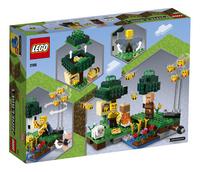LEGO Minecraft 21165 De Bijenhouderij-Achteraanzicht