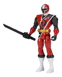 Power Rangers figurine articulée Ninja Steel rouge