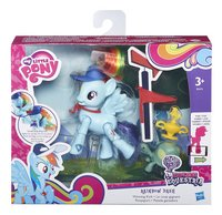My Little Pony speelset Explore Equestria Rainbow Dash Ponyspurt-Vooraanzicht
