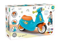Smoby loopfiets Blue Scooter blauw-Linkerzijde