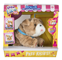 Peluche interactive Little Live Pets Rollie My Kissing Puppy-Avant