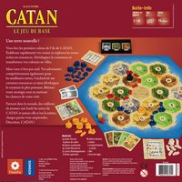 Catan - Le jeu de base FR-Achteraanzicht