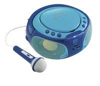 Lenco draagbare radio/cd-speler SCD 650 blauw