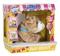 Peluche interactive Little Live Pets Rollie My Kissing Puppy-Côté gauche