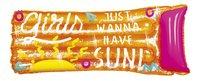 Luchtmatras voor 1 persoon Say it loud oranje-Vooraanzicht
