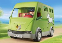 PLAYMOBIL Country 6928 Cavalier avec van et cheval-Image 2
