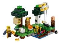 LEGO Minecraft 21165 De Bijenhouderij-Vooraanzicht