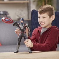 Hasbro actiefiguur Avengers Shield Blast Captain America-Afbeelding 1