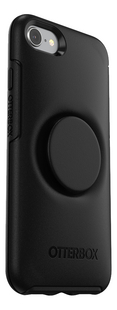 Otterbox cover Otter + Pop Symmetry Series Case voor iPhone 7/8 Black-Achteraanzicht