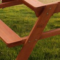 Sunny table de pique-nique pour enfants Dave Sand & Water-Image 2