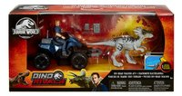 Jurassic World speelset Off-Road Tracker ATV-Vooraanzicht