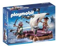 Playmobil Pirates 6682 Radeau avec Pirates des ténèbres