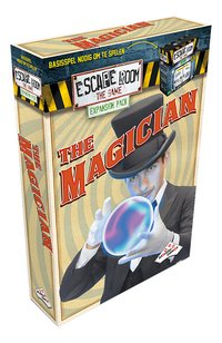 Escape Room The Game uitbreiding The Magician-Linkerzijde