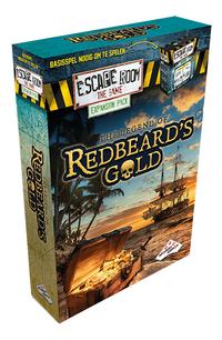 Escape Room The Game uitbreiding The legend of Redbeard's Gold-Linkerzijde