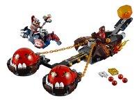 LEGO Nexo Knights 70314 Le chariot du chaos du Maître des bêtes-Avant
