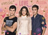 Ravensburger XXL puzzel Disney Violetta Tomas & Leon-Vooraanzicht
