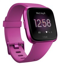 Fitbit smartwatch Versa lite braambesrood-Linkerzijde