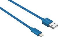 Trust kabel USB naar Lightning 1m blauw-Vooraanzicht