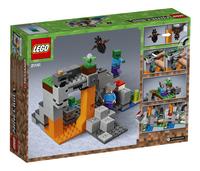 LEGO Minecraft 21141 De zombiegrot-Achteraanzicht