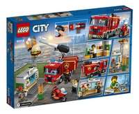 LEGO City 60214 Brand bij het hamburgerrestaurant-Achteraanzicht
