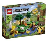 LEGO Minecraft 21165 De Bijenhouderij-Linkerzijde